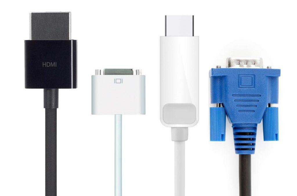 تفاوت کابل های انتقال تصویر VGA,HDMI,DVI,DisplayPort در چیست؟